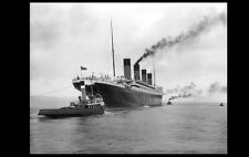 1912 RMS Titanic Test Run PHOTO Belfast Sea Trials, White Star Line Sinking