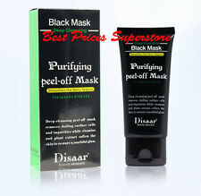 DISAAR Deep Cleansing Black MASK purifying peel-off mask Facial Clean Blackhead