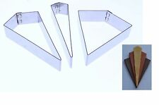 Art Deco #2 - Stainless Steel Pattern Sugarcraft Cutter - Valley Cutter Company