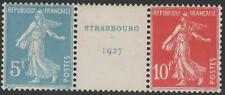 "FRANCE STAMP TIMBRE N° 242 A "" SEMEUSE EXPOSITION STRASBOURG 1927 "" NEUFS xx SUP"