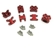 CLOSEOUT Small Parts CNC for Immersion RC Vortex Aluminum Motor Mount Set - Red