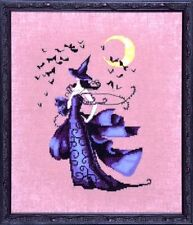 """SALE! COMPLETE XSTITCH KIT """"RAVEN NC222"""" Bewitching Pixies by Nora Corbett"""