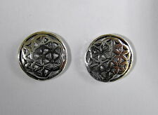 Pair Of Sterling Silver  925  Labyrinth  Ear Studs  !!     Brand  New  !!