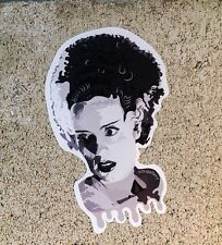 "Bride Of Frankenstein Horror Cut Vinyl 4"" Sticker Slap Decal Indoor Outdoor"