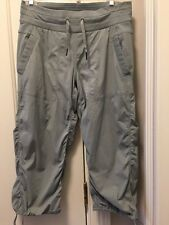 Lululemon Dance Studio Crop Pants pinStriped Gray Size 6