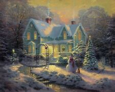 BLESSINGS OF CHRISTMAS THOMAS KINKADE SN CNV 20X24 *ALSO GET A FREE SPECIAL*