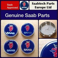 GENUINE Saab 9-3 9-5 900 9000 alloy wheel cap x 4 12775052