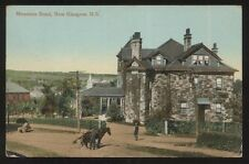 Postcard NEW GLASGOW NS/CANADA  Mountain Rd Large 2 Story Stone House 1905?