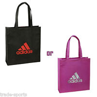 adidas UNISEX MENS WOMENS TOTE BAG BLACK PINK SHOPPER 36 x 11 x 38 CM NEW ECO