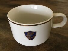 VINTAGE WESTERN AIRLINES INDIAN HEAD FOOD SERVICE COFFEE TEA MUG CUP ABCO JAPAN