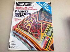 """REVUE  """" L' AUTO JOURNAL """" N° 2  ANNEE  1981  *"""