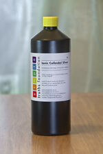 Ionic Colloidal silver,1 litre - 15+ppm, why pay more? + free skin gel sample