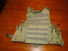 New RBAV-SF Releasable Body Armor Vest SDS BAE Systems Khaki Sz. XL