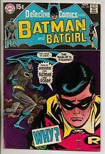 DC Comics Batman In Detective #393 November 1969 Batgirl VF