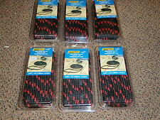 "DOUBLE BRAID DOCK LINES  3/8"" X 15FT SEACHOICE 42431 BLACK W/RED TRACER 6 PAC"
