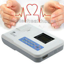 CONTEC CE Digital Single Channel 12 leads ECG EKG Machine+Printer,2y Warranty