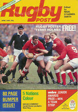 RUGBY POST Apr 1985 ENGLAND MAGAZINE