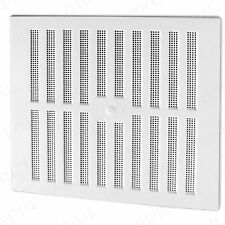 """WHITE + ADJUSTABLE + HIT & MISS LARGE AIR VENT 11.25 """" X 10.5 """" VENTILATOR COVER"""