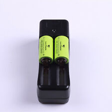 2PCS  Vappower IMR18350 high drain Li-ion battery 3.7V 750mA 8A +1PCS Charger