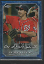 ANTHONY RENDON   2015 TOPPS CHROME COMMENCEMENTS CARD #COM-11