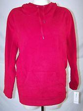 Style & Co Red Fleece Hoodie Sweatshirt Womens Plus Size 2X 18W 20W NEW