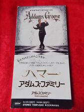 "HAMMER Addams Groove / Japanese 3"" mini CD single JAPAN / UK DESPATCH RARE"