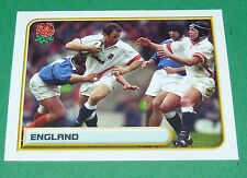 N°6 ENGLAND MERLIN RUGBY WORLD CUP 1999 PANINI COUPE MONDE