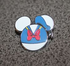 DISNEY PIN DONALD DUCK ICON MYSTERY POUCH BLUE SAILOR HAT RED BOW