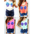 Fashion NEW Womens Ladies Summer Vest Top Sleeveless Blouse Tank Tops T-Shirt