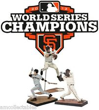 McFARLANE MLB PACK DE 3 - 2012 WORLD SERIES CHAMPIONS - SF GIANTS - SET FIGURAS