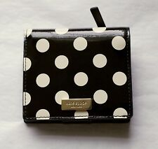 Kate Spade Serenade Carlislie Leather Bifold Small Wallet Dots NEW with Dust Bag