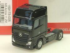 Herpa Mercedes-Benz Actros Gigaspace Zugmaschine, schwarz - 159173-005  - 1/87