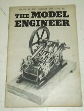 MODEL ENGINEER #2650 VOL 106, MARCH 6TH 1952