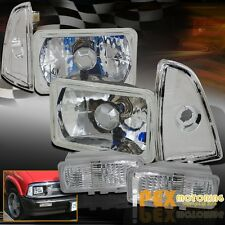 1995 1996 1997 Chevy S10 Blazer Chrome Headlight + Corner Signal + Parking Light
