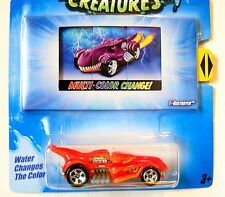 Hot Wheels COLOR SHIFTERS CREATURES ∞ T-REXTROYER ∞ MULTI-COLOR CHANGER T-REX