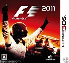 Used 3DS F1 FORMULA 1  2011 NINTENDO 3DS JAPANESE  IMPORT