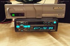 """Old School"",Alpine TDA-7554,Cassette Receiver & CHA-S604, 6 Disc CD Changer"