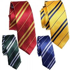 Harry Potter 4pc Ties Hogwarts School Fancy Dress Wizard School Costume Neckties