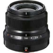 Fujifilm 23mm F2 R XF WR X Mount Lens: Black