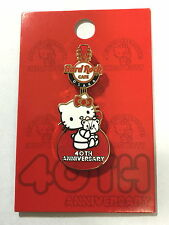 Hard Rock Cafe OSAKA 2014 Hello Kitty 40th Anniversary Guitar Pin LE200