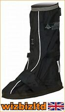 Water Wind Proof Deluxe GTO Motorbike Over Boots (OVERBOOT) Size 8-11 GTOBOOTBLK