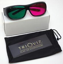 NEW TriOviz InfiColor 3D Glasses for PS3 XBox 360 Assassin's Creed 3 Revelations