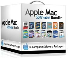 Ultimate logiciel bundle for mac os x bureau art design édition vidéo media 2016