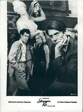 1983 Peter Coyote Blaine Novak Victoria Tennant Strangers Kiss Press Photo