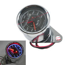 New LED Backlight Universal Odometer Speedometer Gauge Meter km/h for Motorcycle
