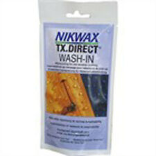 New NIKWAX POUCH TX Direct Wash-In The No1 waterproofing wet weather clothing