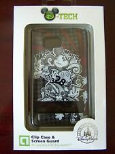 NIP Disney Tech Parks Clip Case Screen Guard HTC Thunderbolt Mickey Mouse 1928