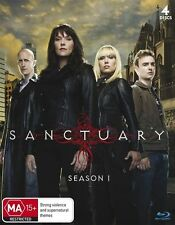 Sanctuary : Season 1 (Blu-ray, 2010, 4-Disc Set)