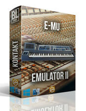 E-MU EMULATOR II  LIBRARY WAV SAMPLES EMU MAC PC