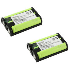 2 Home Phone Battery 350mAh NiCd for Panasonic HHR-P107 HHR-P107A/1B HHRP107A/1B